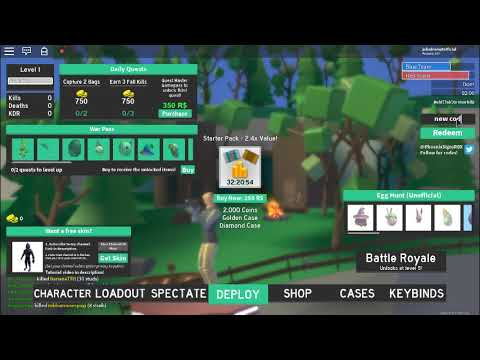EGG HUNT! Strucid [BETA] *NEW* Code (Roblox) - YouTube