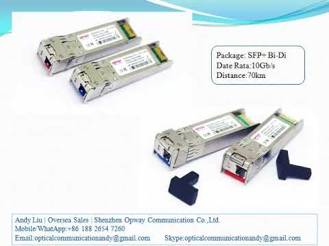 China 10G Bi-Di Fiber Optical Module, China Bi-Di Optical Transceiver