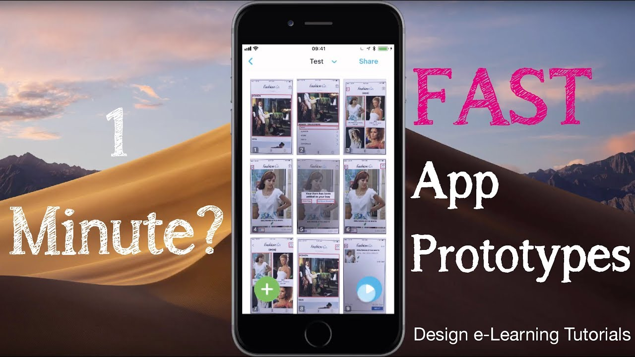 Fast App Prototyping With Marvel App Design Elearning Youtube