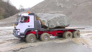 RC Volvo FMX 8x8 extreme! Incredible RC Vehicles work in the mud! Best rc toys