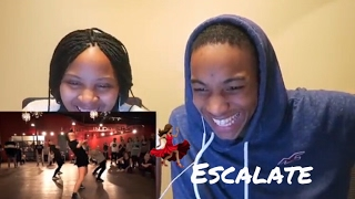 Tsar B - Escalate - Choreography by Alexander Chung - ft Jade Chynoweth **Reaction**