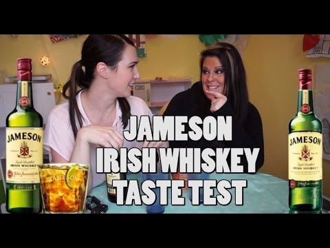 JAMESON IRISH WHISKEY TASTE TEST | Marci and Kat