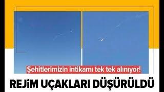 Son Dakika: 2 Rejim Uçağı Düşürüldü! / A Haber