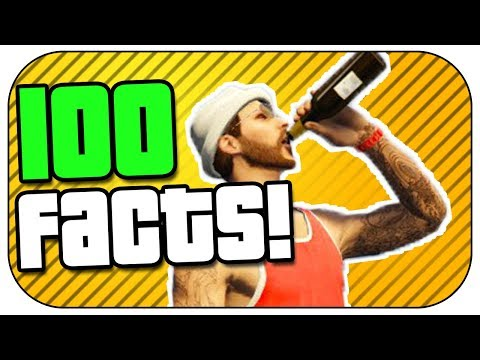100 Facts about GTA 5 You Probably Didn't Know