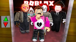 THEY CATCH ME IN THE TERROR ELEVATOR Cerso roblox in Spanish