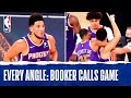 Every Angle: Booker Hits #TissotBuzzerBeater #ThisIsYourTime