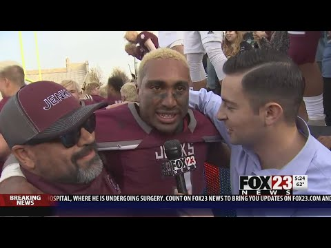 VIDEO - Jenks beats Union on last second TD to make title game