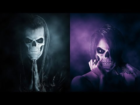 Halloween Photoshop Action Tutorial