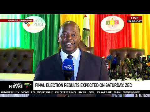ZEC expected to release preliminary Zimbabwe election results