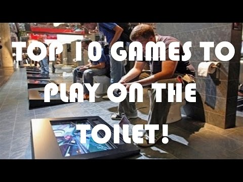 Top 10 Mobile Games To Play On The Toilet