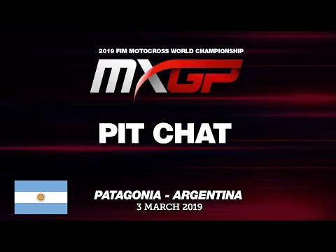 Pit Chat With Gautier Paulin MXGP Of Patagonia -  Argentina 2019 #Motocross