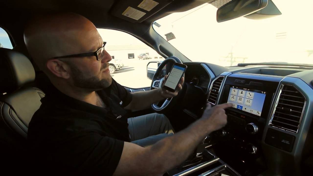 How to Pair your phone to Ford Sync 3 - YouTube