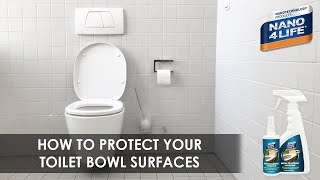 How to protect your toilet bowl | Nano4-ToiletBowl | by NANO4LIFE
