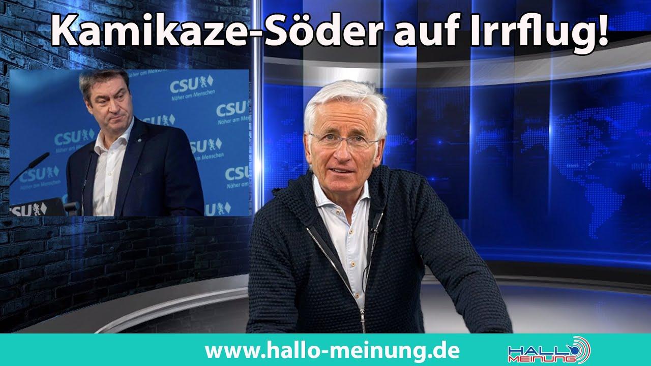 Kamikaze-Söder auf Irrflug!