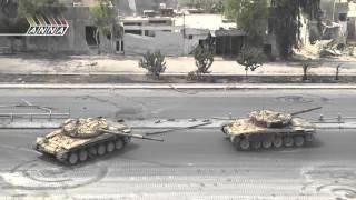 Операция Сирийской армии в Аль Кабуне (пригород Дамаска). Часть 2 2013г.
