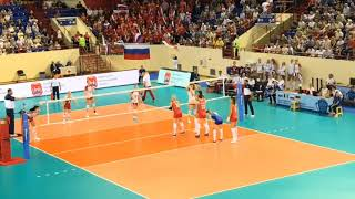 RUSSIA x POLAND Friendly Match | Governor's Cup 2019 | 1 SET