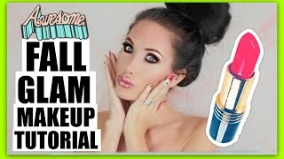 FALL GLAM MAKEUP TUTORIAL | CHANNON ROSE