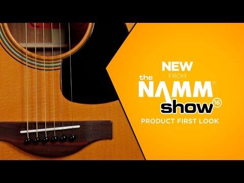 NAMM 2016 - Yamaha 50th Anniversary FG180 Dreadnought Acoustic Guitar