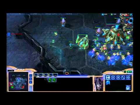 StarCraft 2: CombatEX Live Stream - EternuS [P] vs CombatEX [P]