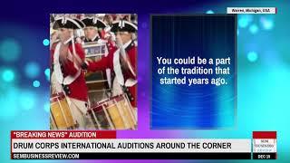 Drum Corps International Auditions Around The Corner