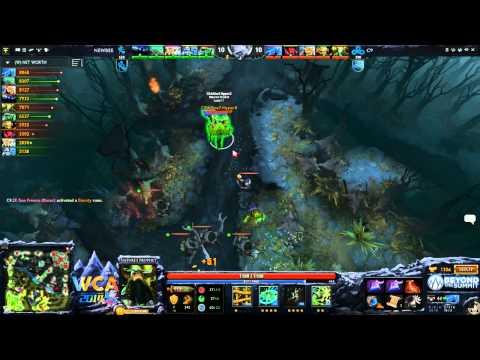Cloud9 vs Newbee - WCA 2014 LAN LB Finals  - Game 1