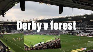 Derby v forest vlog