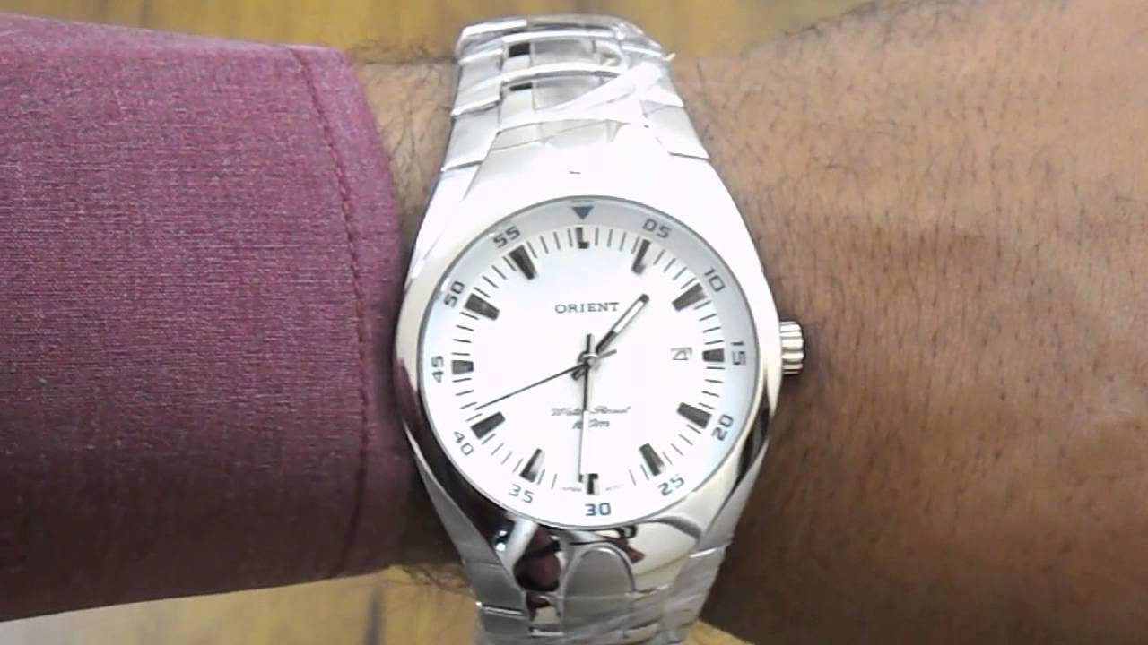 9f1631b5b6d Relógio Masculino Orient MBSS1077 - YouTube