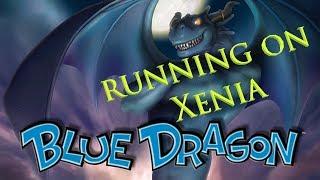 Blue Dragon running on Xenia emulator 1440P