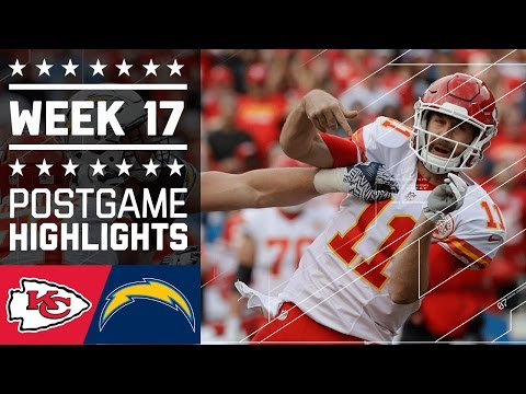 Chiefs vs. Chargers | NFL Week 17 Game Highlights
