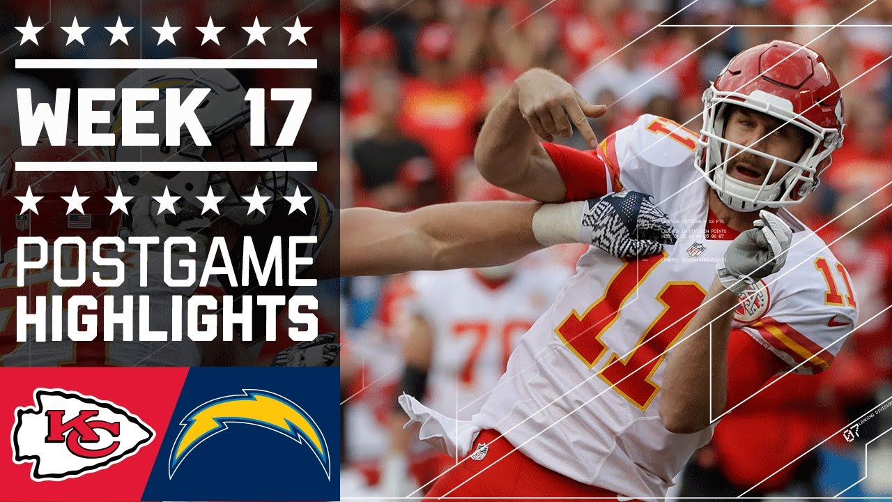 Chiefs Vs Chargers Nfl Week 17 Game Highlights Youtube