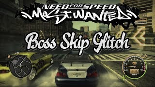 Need for Speed: Most Wanted (2005) - Boss Skip Glitch (PC)