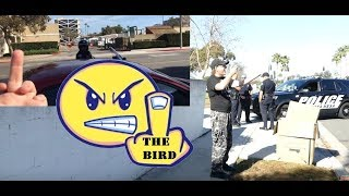 First Amendment Test Costa Mesa Police Gets The Bird