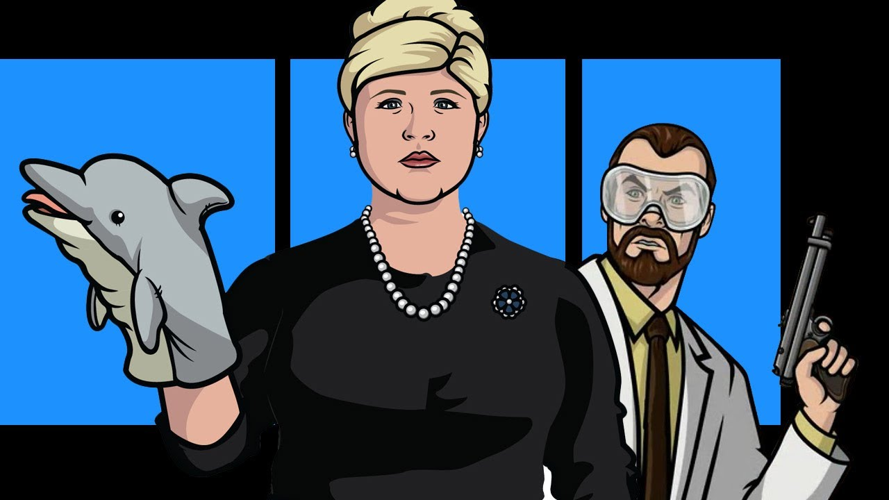 Archer pam and dr krieger speak ny comic con 2013 youtube