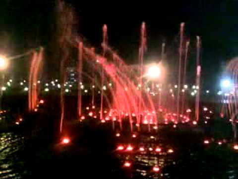 Video of music fountain@lucknow