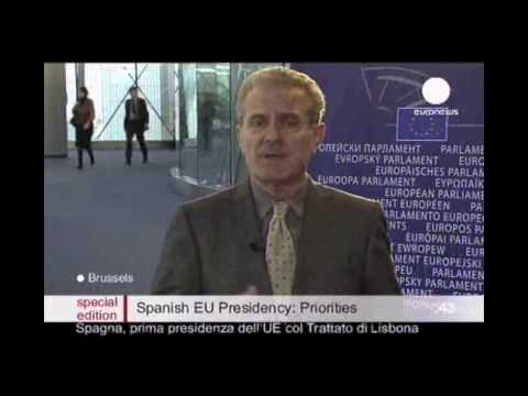 Spanish EU Presidency - Cuba Interview Yoani Sánchez & MP Luis Yáñez