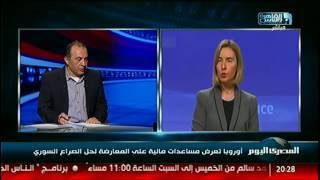 أوروبا تعرض مساعدات مالية على المعارضة لحل الصراع السوري