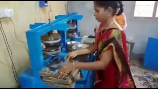 Information of Telghu Small scale Cottage Industry Paper plate making Machine