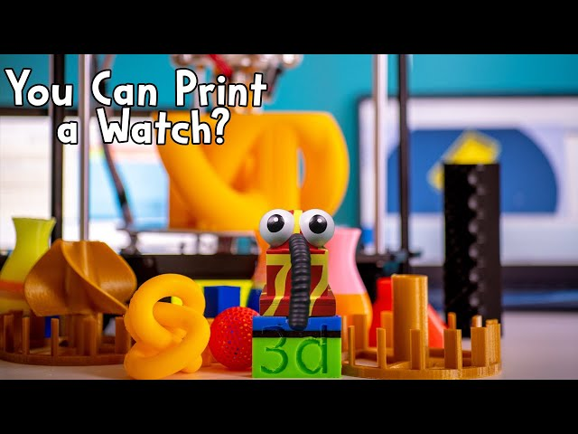 Full STEAM Ahead Ep2: You Can Print a Watch?