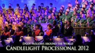 2012 Candlelight Processional at Epcot - FULL PROGRAM - Lea Salonga Hosts