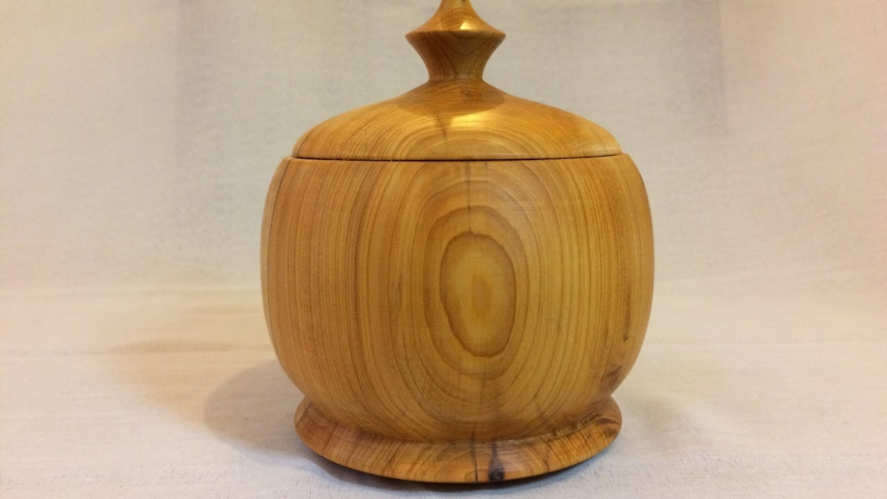 how to turn lidded boxes
