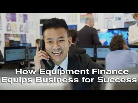 How Equipment Finance Equips Business for Success