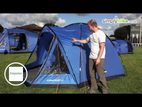 Sneak Peak 2013 Tents - Vango Berkeley 400 - www.simplyhike.co.uk