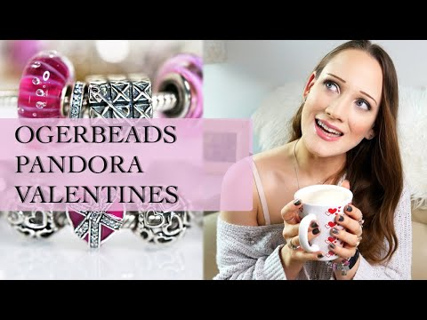 Ogerbeads Valentine Collection | My Valentines Day Pandora Bracelet