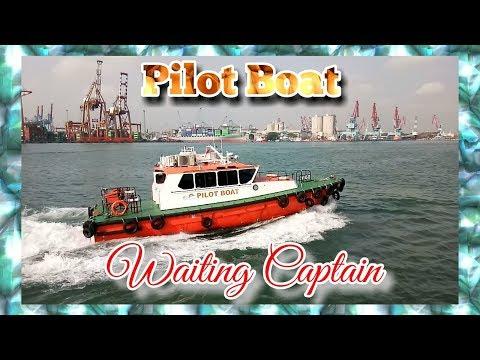 Pilot Boat Jakarta Waiting captain