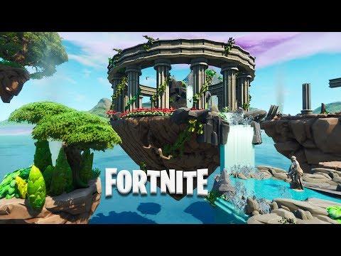 Fortnite: 1v1 Arena - Floating Island Temple (Speed Build)