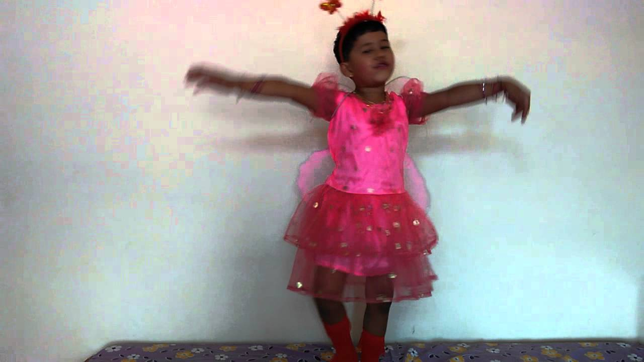 b288273c84 Fancy Dress Butterfly Costume and Dialouge for Kids - YouTube