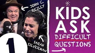 """Do you like diarrhoea?!"": Kids Ask John C. Reilly & Sarah Silverman Difficult Questions"