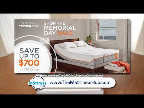 Up To 700 Off Tempur Pedic During Memorial Day Madness At The