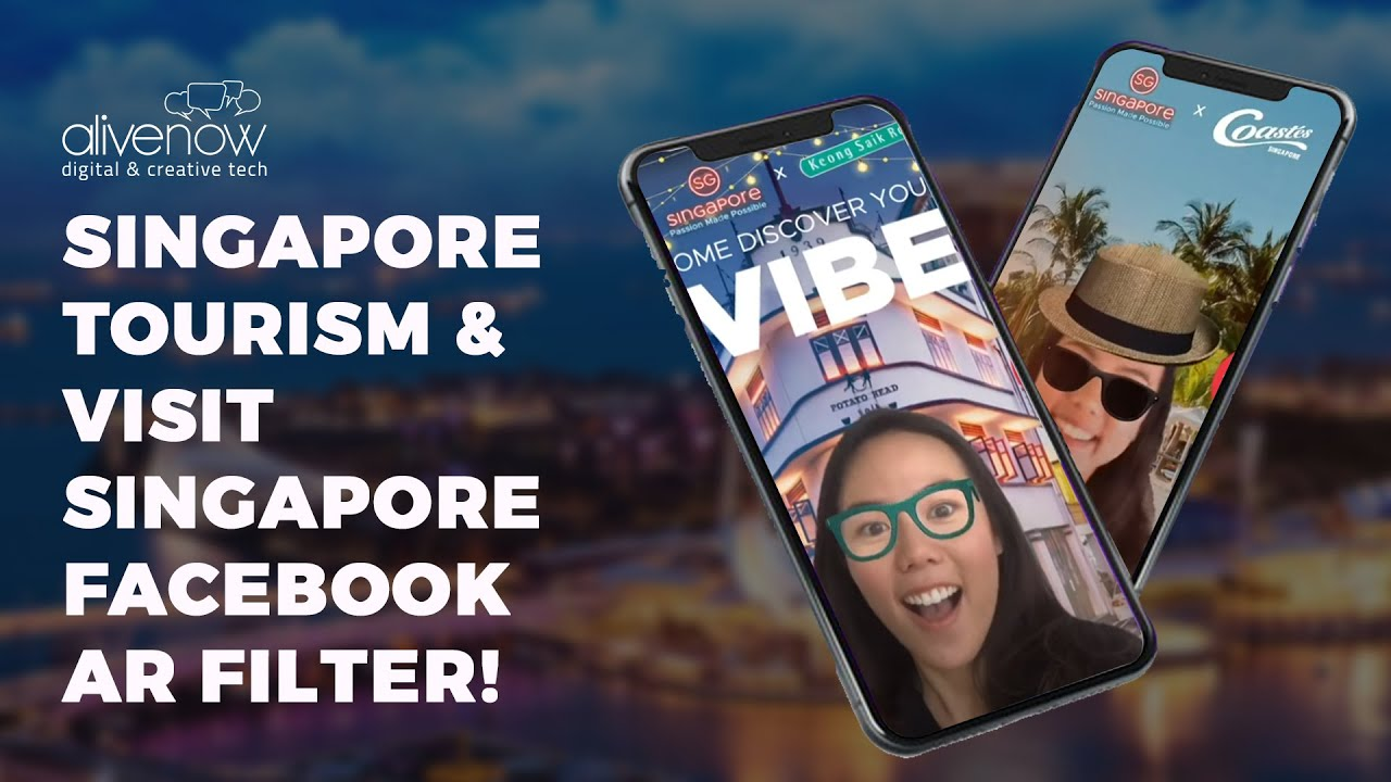Singapore Tourism Digital Advert By AliveNow: Singapore