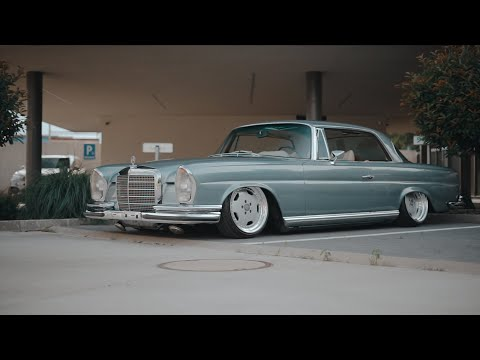 A Day in Bratislava with Lukas' W111 Coupe | Violent Clique